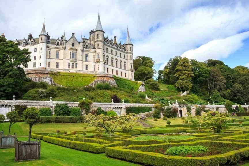 Garten und Schloss Dunrobin Castle