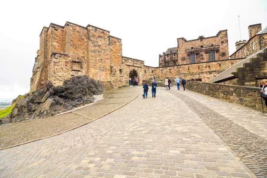 Esplanade vor Edinburgh Castle