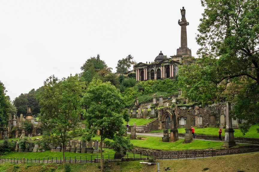 Necropolis - Alter Friedhof in Glasgow