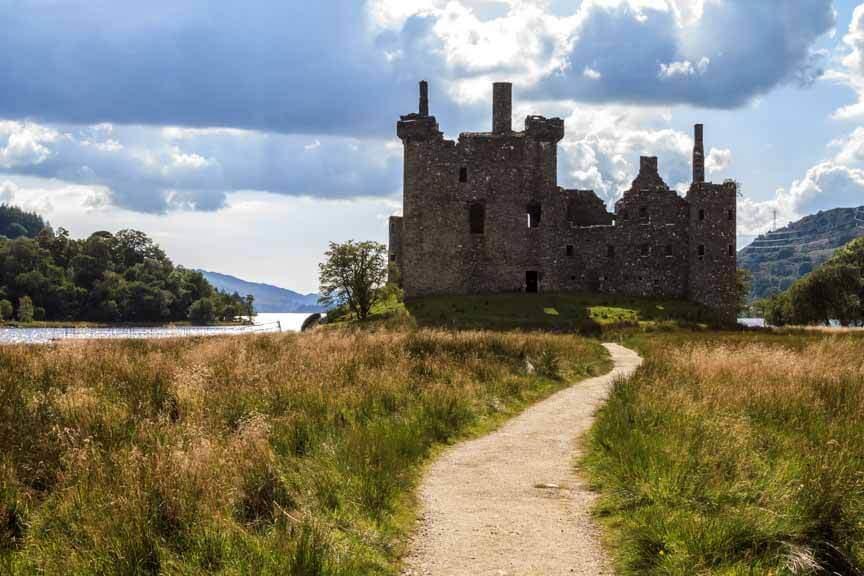 Frontseite von Kilchurn Castle