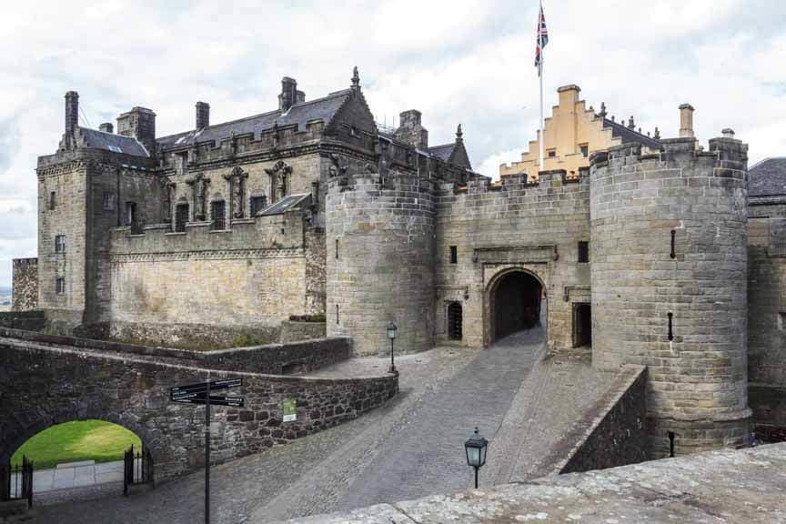 Torhaus in Stirling Castle
